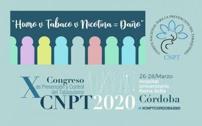 X Congreso de Prevención y Control del Tabaquismo del CNPT