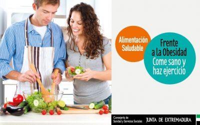 Campaña frente a la obesidad, de promoción del ejercicio físico y la alimentación saludable