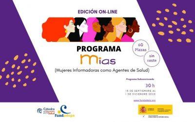 Programa MIAS 2020: Mujeres Informadoras como Agentes de Salud