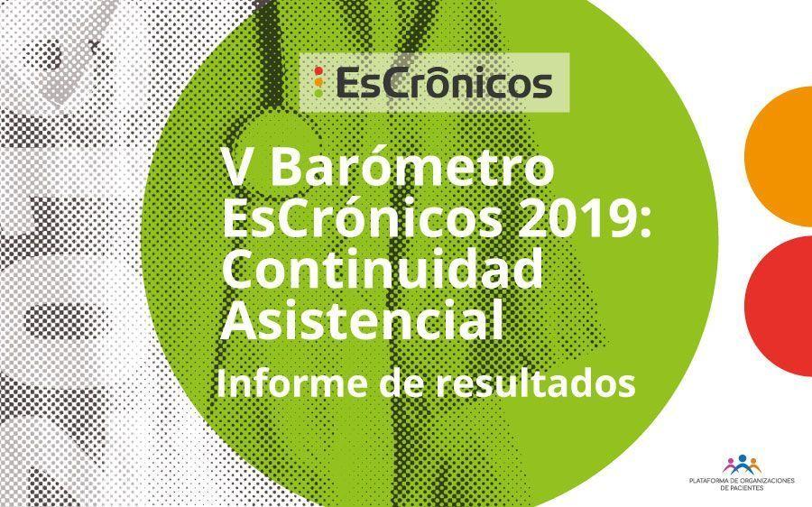 V Barómetro EsCrónicos 2019: Continuidad asistencial
