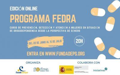 Curso online «Prevención, detección y atención a mujeres en situación de drogodependencia desde la perspectiva de género» Edición 2020