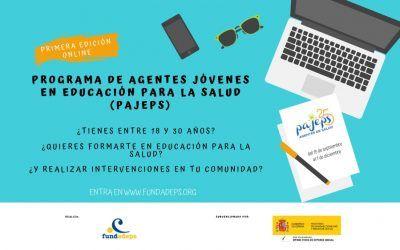 PAJEPS 2020 – Programa de Agentes Jóvenes en Educación para la Salud