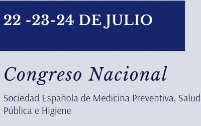 Congreso Sociedad Española de Medicina Preventiva, Salud Pública e Higiene