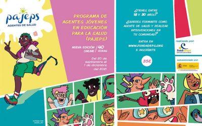 PAJEPS 2021 – Programa de Agentes Jóvenes en Educación para la Salud
