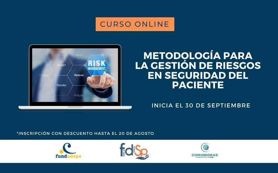 «Metodología para la Gestión de Riesgos en Seguridad del Paciente» Curso online