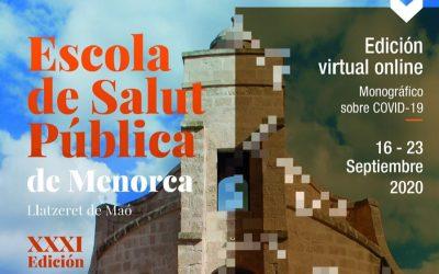 XXXI Escuela de Salud Pública de Menorca