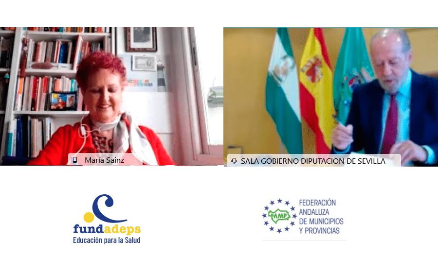 FAMP y FUNDADEPS sellan un acuerdo para promocionar la salud y el desarrollo sostenible en los municipios andaluces