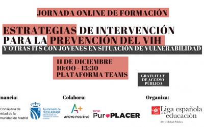 Jornadas on-line: Intervención y prevención del VIH y otras ITS en tiempos de la COVID-19