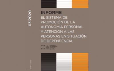 Informe: El sistema de promoción de la autonomía personal y atención a las personas en situación de dependencia