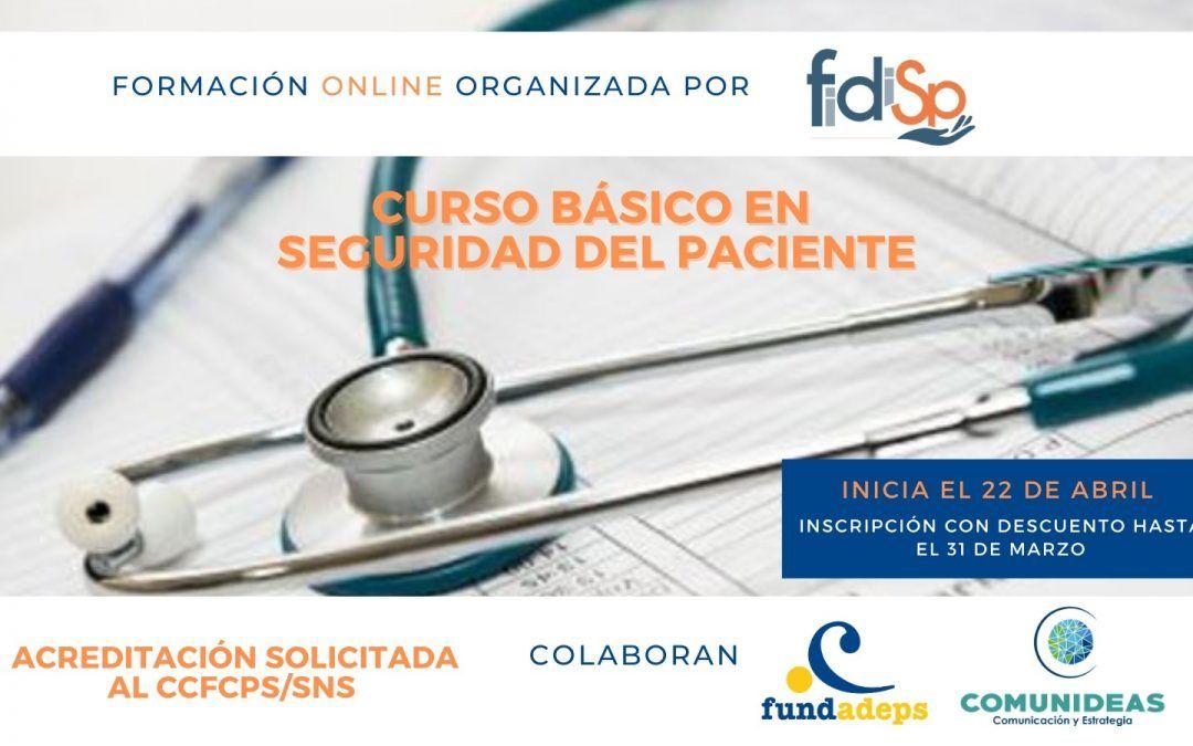 Curso básico en Seguridad del Paciente – Modalidad online