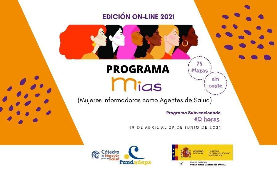 Programa MIAS 2021: Mujeres Informadoras como Agentes de Salud