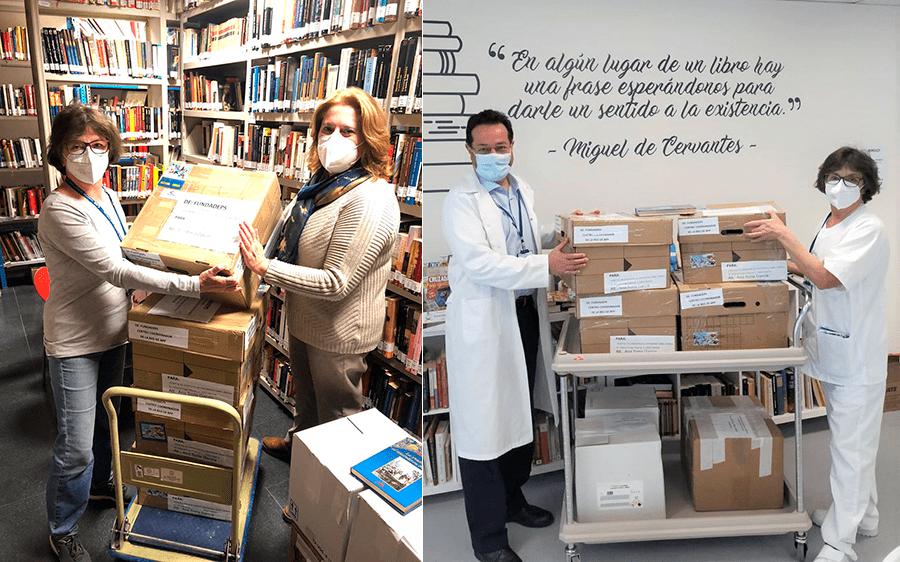 La Red Estatal de Bibliotecas para Pacientes nutre con sus libros al Hospital Isabel Zendal