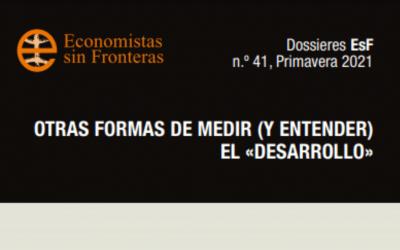 Dossieres ESF «Otras formas de medir (y entender) el desarrollo»