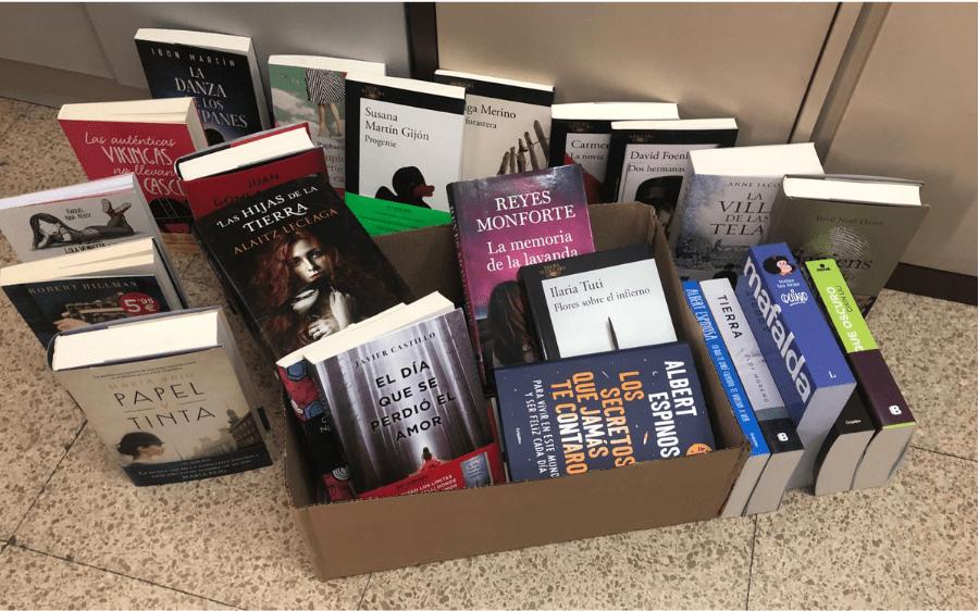 La red de Bibliotecas para Pacientes crece con las donaciones de editoriales y empresas