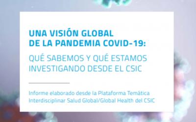 UNA VISIÓN GLOBAL DE LA PANDEMIA COVID-19