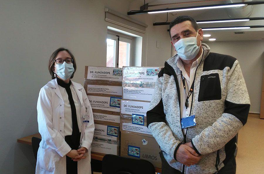 Nuevas lecturas para la Biblioteca para Pacientes del Hospital Santa Cristina