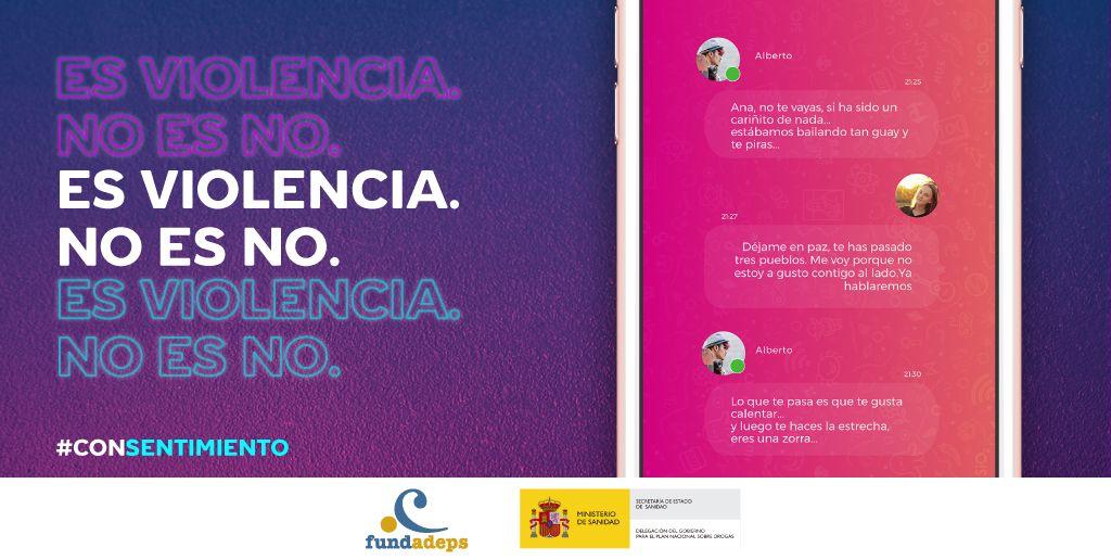 #CONSENTIMIENTO Campaña para la prevención de la violencia sexual y el consumo de drogas en espacios de ocio nocturno