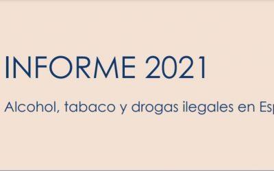 INFORME 2021. Alcohol, tabaco y drogas ilegales en España