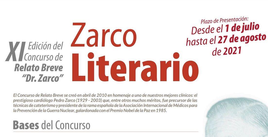 "XI Edición del Concurso de Relato Breve ""Dr. Zarco"""