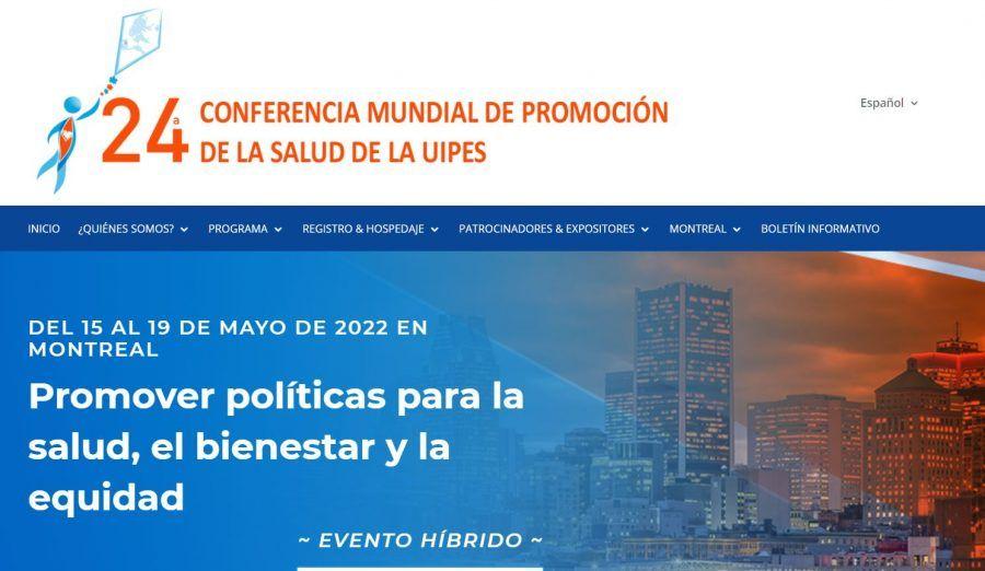 24ª Conferencia mundial de Promoción de la Salud UIPES