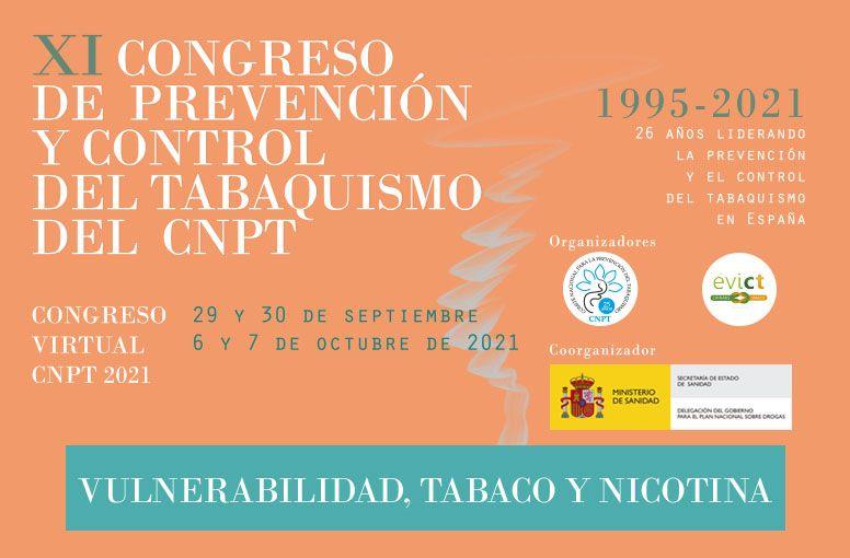 XI Congreso de prevención y control del tabaquismo del CNTP